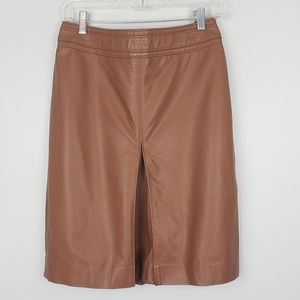 The Limited Faux Leather Pencil Skirt NWT